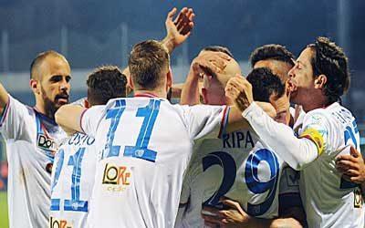 Monopoli Catania 5-0