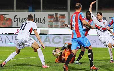 Catania Cosenza 2-2