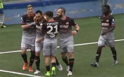 Akragas-Catania 1-3